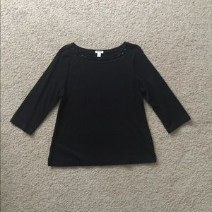 Old Navy Women's Formal Top 3/4 Sleeve Size L